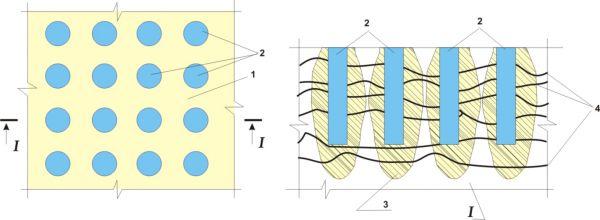Усиление несущей способности свайного фундамента инъектированием
