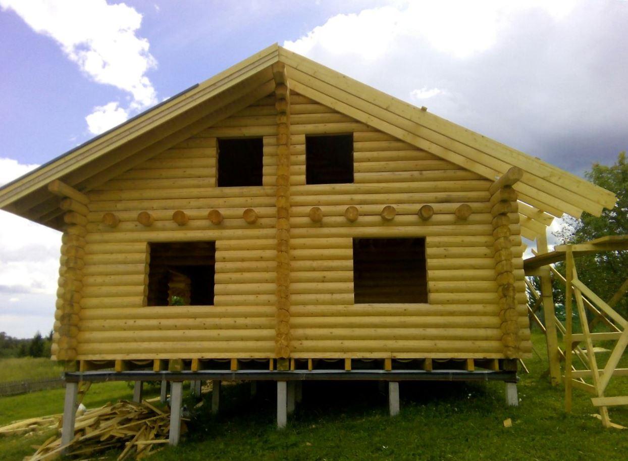 свайный фундамент под дачный дом