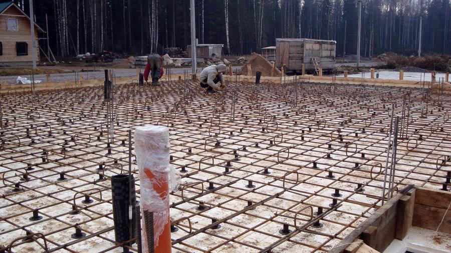 Армирование монолитных железобетонных фундаментов госты на плиты ребристые